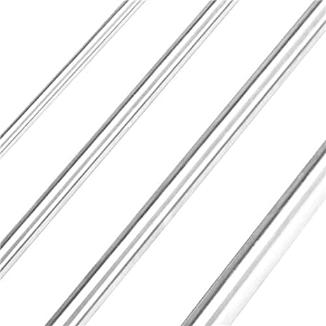 M8 X 1.25 Thread 14MM Head Dia UNICORP MSCS551-3 Slotted Shoulder Screw- 10MM Shoulder Dia 7MM Head Ht 12MM Shoulder Lg 303 Stainless Qty-5