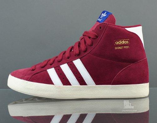 Adidas BASKET PROFI (GS) et + Junior Q23332 Rouge