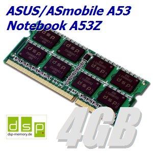 Memoria RAM de 4 GB para Asus ASmobile A53 Ordenador Portatil A53Z: Amazon.es: Informática