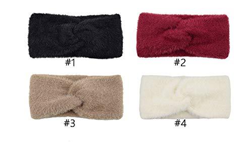 4Pcs Women's Winter Knot...
