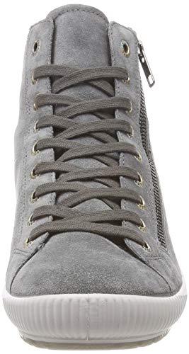 Legero 21 basalto Alto Sneaker Donna A Tanaro Collo Grau g8wgqOr