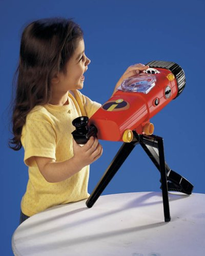 The Incredibles VIEWMASTER TELESCOPE+PROJECTOR SET