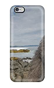 Durable Case For The Iphone 6 Plus- Eco-friendly Retail Packaging(funny Looking Baboon)