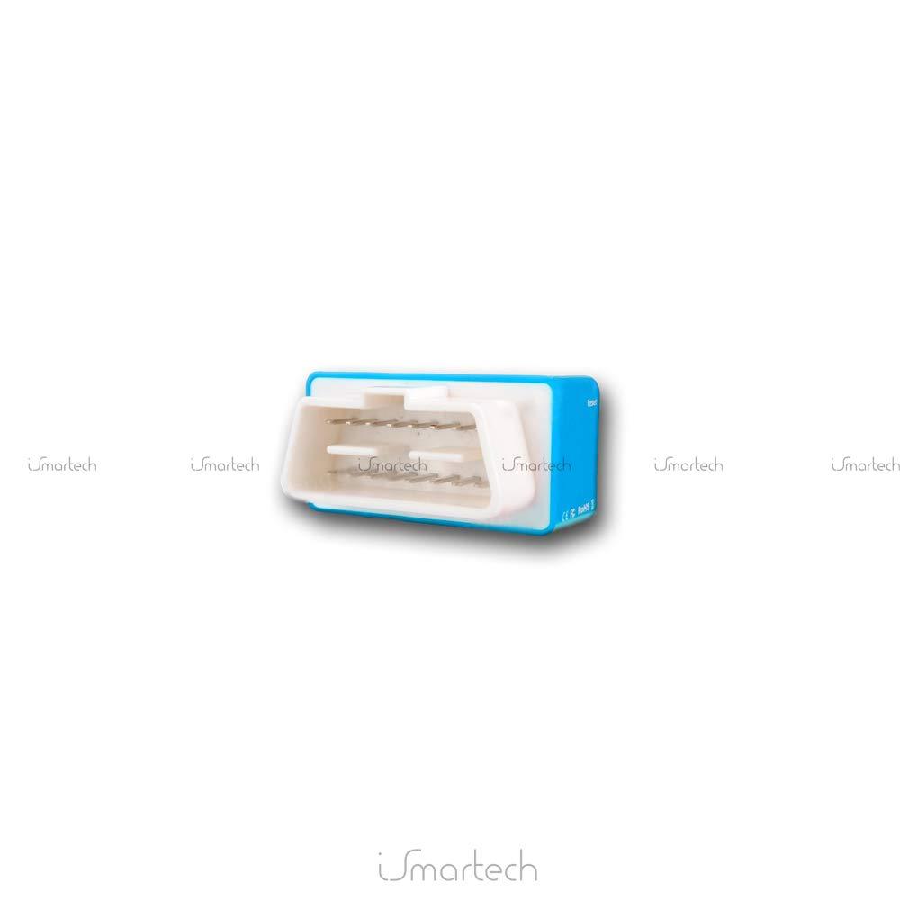 Blau-Eco KingNew Plug Drive Eco Nitro Motorleistung Benzin- // Diesel-Auto OBD2 Chip-Tuning-Box
