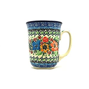 Polish Pottery Mug – 16 oz. Bistro – Unikat Signature U3347