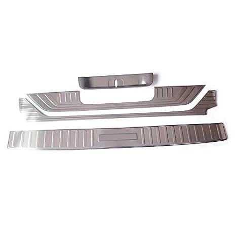 Exterior de acero inoxidable + repisa interior interior Parachoques placa de la cubierta para Vito W447 2014-2018 4 piezas: Amazon.es: Coche y moto
