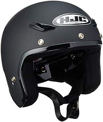 HJC Adult CS-5N Solid Matte Black 3//4 Open Face Motorcycle Helmet DOT