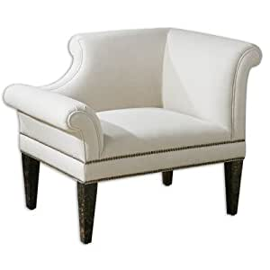 uttermost 23057 Fontaine Right Armchair