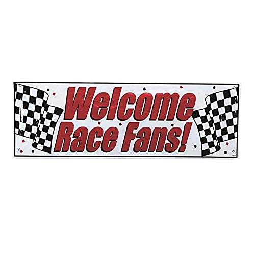 - Creative Converting 291724 Welcome Race Fans