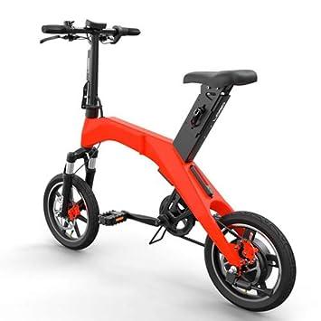 YTBLF Bicicleta Eléctrica Plegable De 12 Pulgadas Bicicleta Plegable De Aluminio Bicicleta Eléctrica Plegable Inteligente