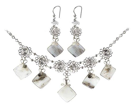 Stunning Peruvian Semi Precious Necklace Matching product image