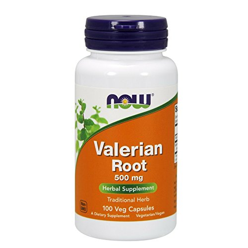 NOW Valerian Root 500mg Capsules product image