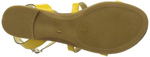 TANTRA Striped Sandals - Sandalias Para Mujer Yellow