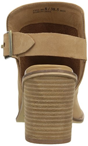 Chinese Laundry Womens Caleb Heeled Sandal Natural Leather Sp0zUf