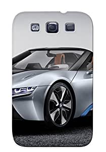 Galaxy S3 Bmw I8 Spyder Concept Print High Quality Tpu Gel Frame Case Cover For New Year's Day