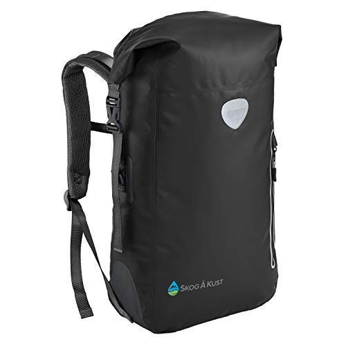 Såk Gear BackSåk Waterproof Backpack | 25L Black