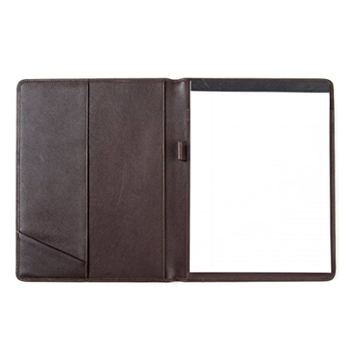 Standard Padfolio - Full Grain Leather - Chocolate Brown (brown) by Leatherology