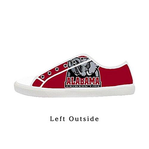 cd19822f4 hot sale 2017 Custom Women Alabama Crimson Tide Canvas Shoes Comfortable  Sneakers