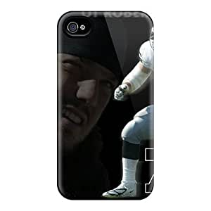 [ESq4597hmkG]premium Phone Case For Iphone 4/4s/ Oakland Raiders Tpu Case Cover