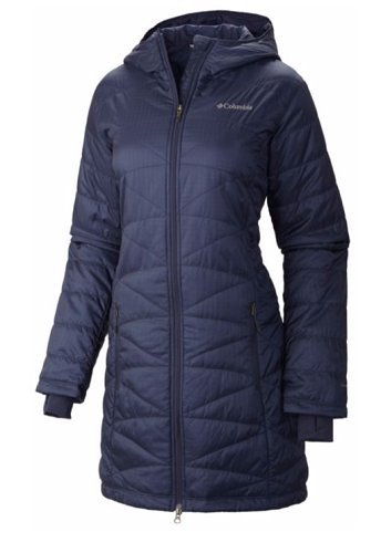 Columbia Women's Mighty Lite Hooded Jacket, Nocturnal, - Top First Layer Womens