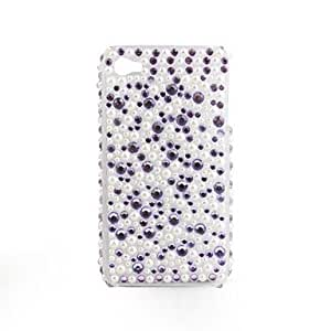 DUR Protective PVC Case with Jewel Cover for IPhone4