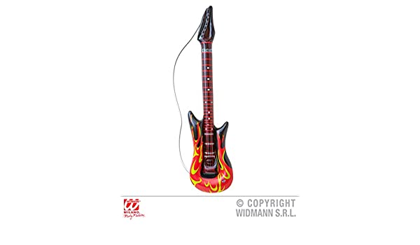 Rock - Guitarra - , 105 cm, hinchable, Hard Rock de ...