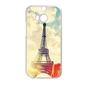 sunshine eiffel tower personalized high quality cell phone case for HTC M8
