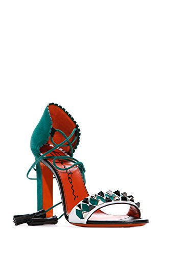 Santoni Women's Fashion Sandals Green Green WDLwU