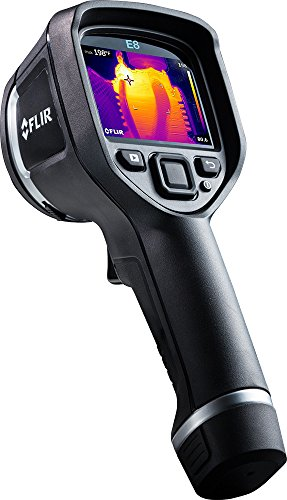 FLIR E8: Compact Thermal Imaging Camera with 320 x 240 IR Resolution, MSX and Wi-Fi