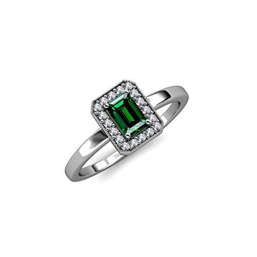 0.70 Ct Emerald Cut Diamond - 8