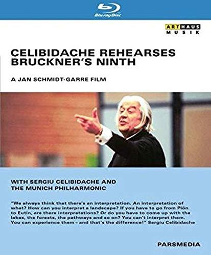 Bruckner: Celibidache Rehearses Bruckner's 9th (Blu Ray) [Blu-ray]