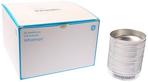 GE Whatman 9907-042 Grade 934-AH RTU Borosilicate Glass Microfiber Filter, 42.5mm Diameter (Pack of 100) by Whatman