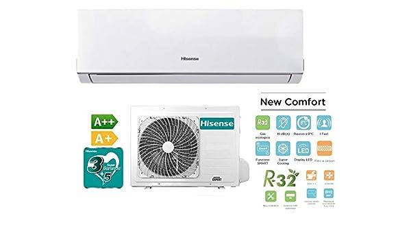 Hisense - Aire acondicionado climatizador New Comfort Inverter ...