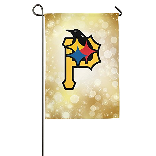 Halloween Decor Youtube (LnEir Custom Pittsburgh Sports Football Logo Mix Summer Patio Garden Flag Decor)