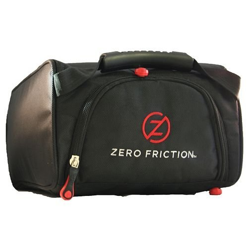 Zero Friction Adult Ballistic Nylon Shoe Valet Bag with Zero Friction, 18'' x 8'' x 5'', Black by Zero Friction (Image #1)