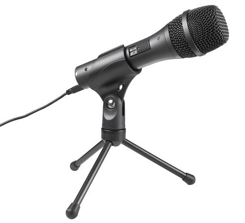 Audio Technica AT2005USB Handheld Dynamic Microphone by Audio-Technica