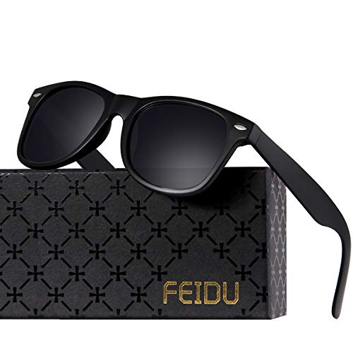 Polarized Sunglasses for Men Retro - FEIDU Polarized Retro Sunglasses for Men FD2149 ()