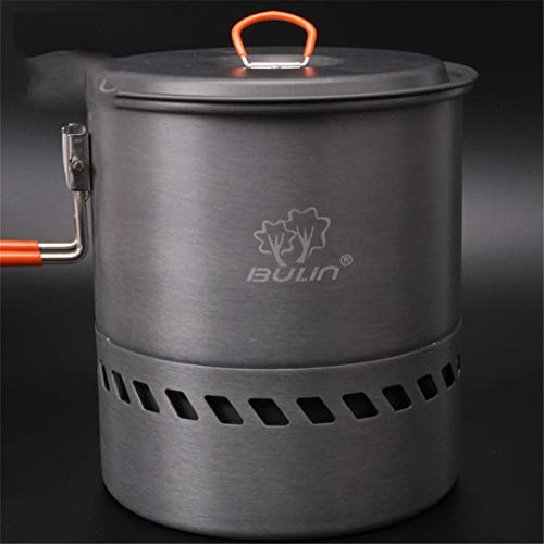KEHAIWU Bulin Camping Water Pot Outdoor Kettle Heat Exchanger Pot Bulin S2400 1.5L