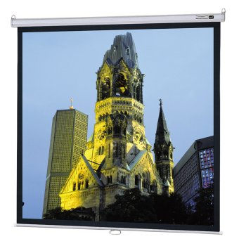 Model B Matte White Manual Projection Screen Viewing Area: 50