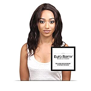 EURO REMY ERECS3007BW-S-N10 Brazilian Virgin 100% Unprocessed Human Hair Extensions 360 Lace Frontal Closure w/Adjustable Straps Bodywave 10 inches Natural
