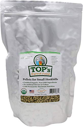 TOP's Parrot Food Bird Pellets for Small...
