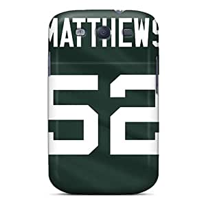 Shock-dirt Proof Green Bay Packers Cases Covers For Galaxy S3 Black Friday