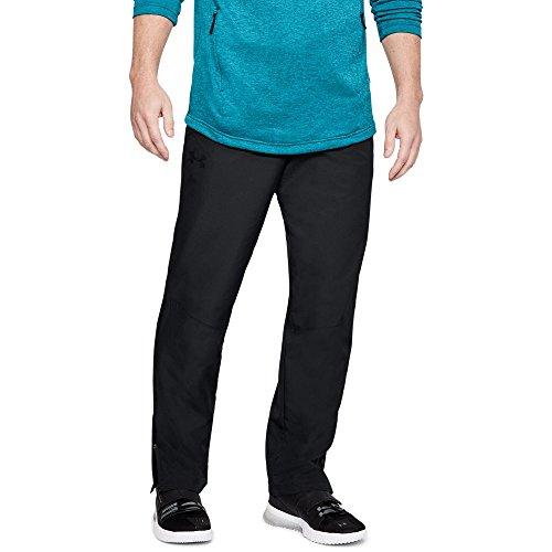Under Armour Men's Sportstyle Woven Pants, Black /Black, XXX-Large