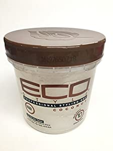 Eco Style Coconut Styling Gel, 16 Ounce