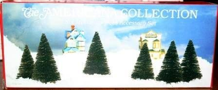 Liberty Falls Miniature Trees Accessory Set; AH49 from The Ameriana Collection