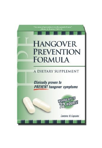 HPF Hangover Prevention Formula ct product image