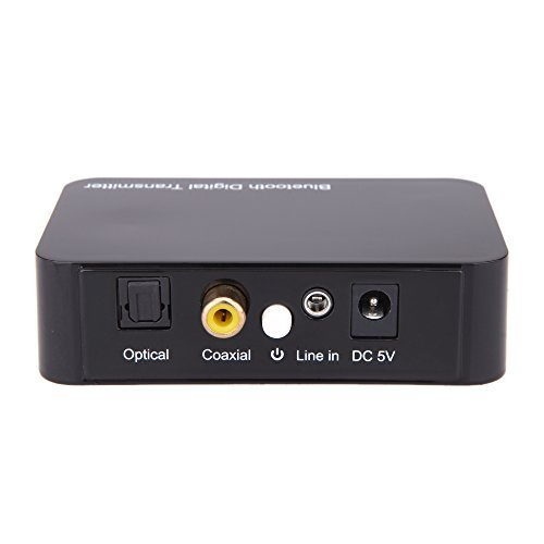 Goliton 3.5mm Wireless Bluetooth Audio Transmitter Digital Sound Audio Decoding Optical Coaxial Transmission Sound for