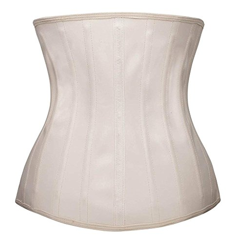 41d5fb91f2 SHAPERX Women s Sports Latex Waist Trainer Corsets Cincher Weight Loss  Hourglass Shaper Girdle