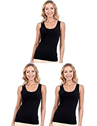 Patricia Lingerie Women's Cotton Modal Layering Tank Top Cami