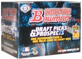 2001 Bowman Baseball Draft Picks & Prospects Complete ()